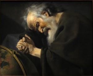 Heráclito como el Filósofo que llora
